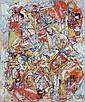 Alexandre ISTRATI (1915-1991) COMPOSITION, 1980 Huile sur toile