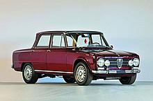 1968 Alfa Romeo Giulia Super berline  No reserve