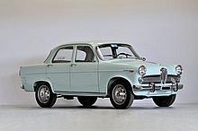 1963 Alfa Romeo Giulietta Ti berline Série 3  No reserve