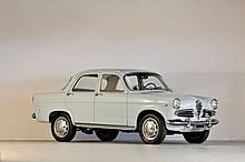 1960 Alfa Romeo Giulietta berline  No reserve