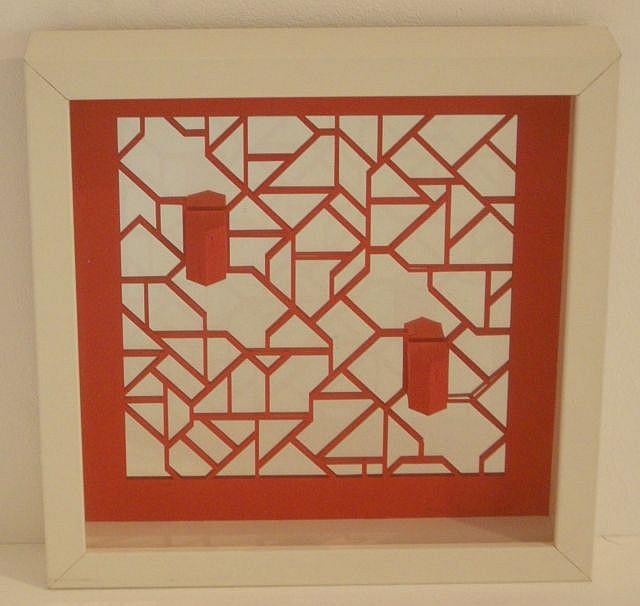 Sharon Pazner Structure en labyrinthe, 2008