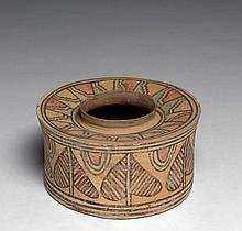 POT POLYCHROME, VALLÉE DE L'INDUS, MEHRGARH, PÉRIODE VII, VERS 2800 AV. J.C.