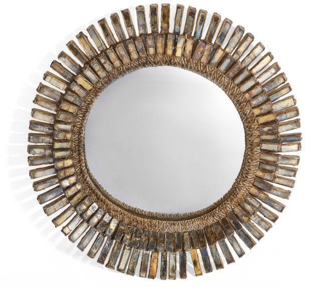 line vautrin 1913 1997 miroir sorci re mod le gerbera. Black Bedroom Furniture Sets. Home Design Ideas