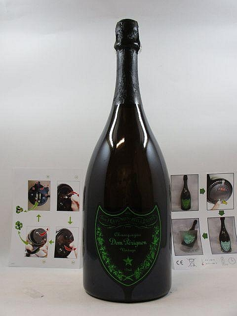 1 jéroboam CHAMPAGNE DOM PERIGNON 2004 Vintage - Luminous (3 litres
