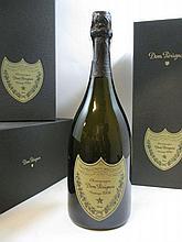 3 bouteilles CHAMPAGNE DOM PERIGNON 2006 Vintage  Coffret d''origine