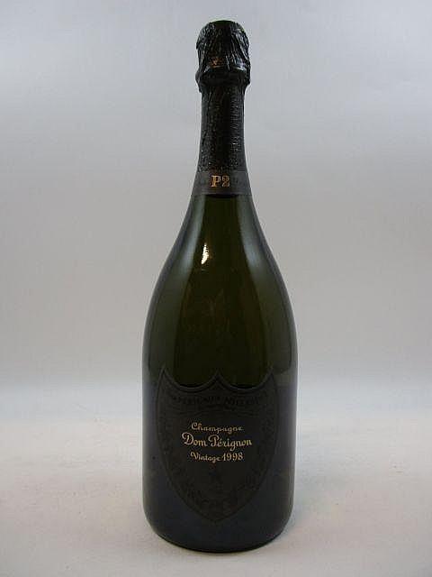 1 bouteille CHAMPAGNE DOM PERIGNON P2 1998 Plénitude 2