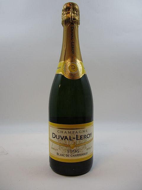 1 bouteille CHAMPAGNE DUVAL LEROY 1996 Brut Blanc de Chardonnay