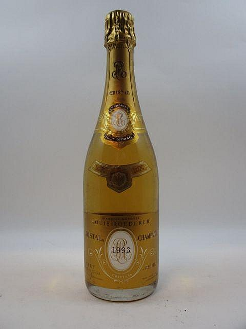 1 bouteille CHAMPAGNE ROEDERER 1993 Cristal