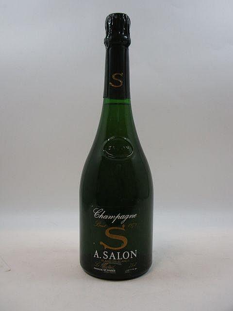 1 bouteille CHAMPAGNE SALON 1979 S de Salon