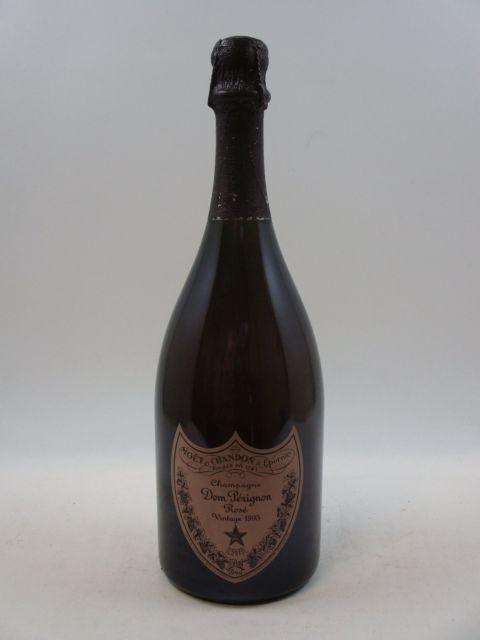 1 bouteille CHAMPAGNE DOM PERIGNON 1995 Rosé  (cave 16)