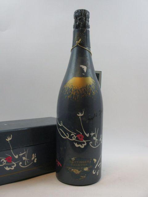 1 bouteille CHAMPAGNE TAITINGER 1982 Collection André Masson (habillage et étui d''origine abimés)