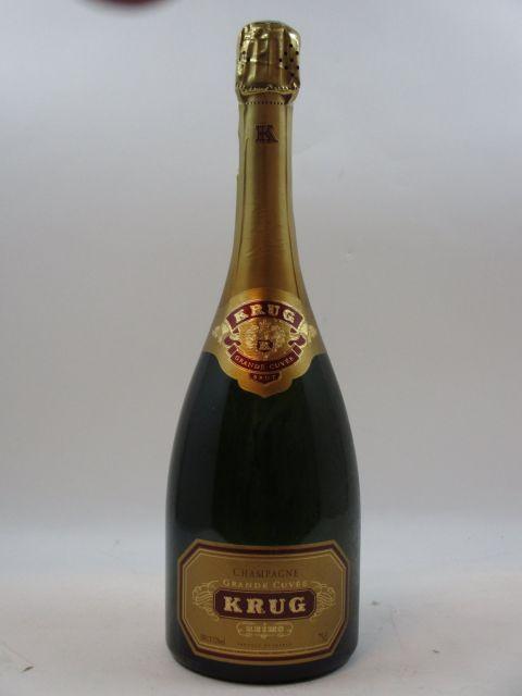 1 bouteille CHAMPAGNE KRUG Grande Cuvée