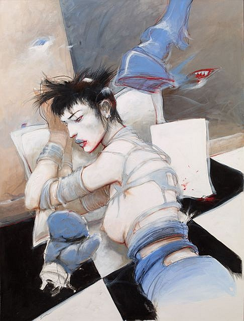 Enki BILAL (né en 1951)  AFTER CHAOS (KO), 2012