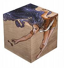 ALEX (Né en 1973) SANS TITRE, 2013 Technique mixte sur structure en bois