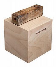 Jean-Michel ALBÉROLA (Né en 1953) VALEUR AJOUTÉE, 2014 Technique mixte sur structure en bois