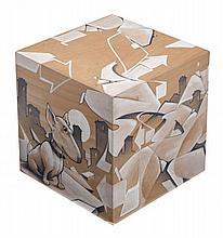 DUME (Né en 1973) SANS TITRE, 2013 Technique mixte sur structure en bois
