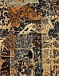 François DUFRENE (1930-1982) DESSOUS D'AFFICHES, 1960 Arrachage d'affiches marouflées sur toile collées sur panneau peint, Francois Dufrene, Click for value
