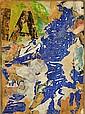 François DUFRENE (1930-1982) SANS TITRE, 1964 décollage d'affiches marouflé sur toile, Francois Dufrene, Click for value