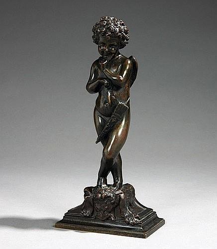 Alfred Louis HABERT (1824-1893) L'Amour méditant