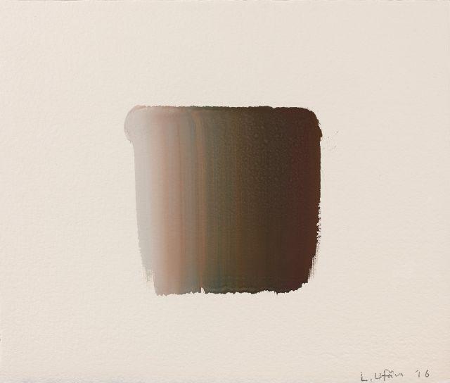 LEE Ufan (Né en 1936) SANS TITRE - 2016 Gouache sur papier