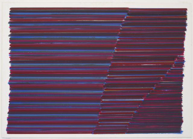 Jean-Michel MEURICE (Né en 1938) BOUKAHARA 6 - 1982 Gouache sur carton