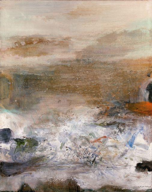 ZAO WOU- KI (1920 - 2013) 30.01.76 - 1976 Huile sur toile