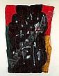 Ladislas KIJNO (né en 1921) HOMMAGE A PABLO NERUDA I, 1975 Acrylique et bombe aérosol sur toile froissée marouflée sur toile, Ladislas Kijno, Click for value