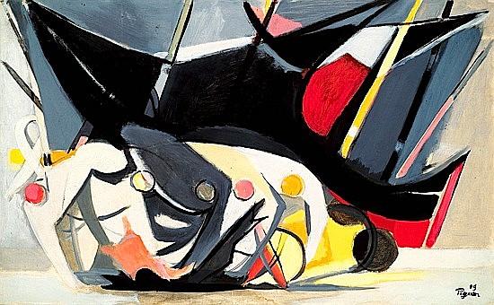 Edouard PIGNON (1905-1993) OSTENDE, 1949 Huile sur toile