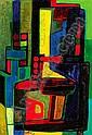 Maurice ESTEVE (1904-2001) LE PEINTRE VERRIER, 1949 Huile sur toile, Maurice Esteve, Click for value