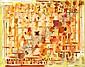 Roger BISSIERE (1886-1964) PIERRES BLANCHES / COMPOSITION ROSE, 1961 Huile sur toile de matelas, Roger Bissiere, Click for value