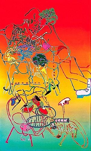 Gérard GUYOMARD (né en 1936) SANS TITRE Acrylique sur toile