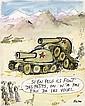 REISER (1941-1983)  SI EN PLUS ILS FONT DES PETITS... Encre de Chine, feutre noir et aquarelle de couleur pour une illustration...