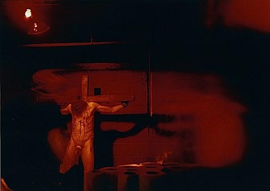 Jean-Christian BOURCART (né en 1960) LA CITE INTERDITE N° 28, Hell Fire, New York, 1999 Tirage chromogénique de l'époque