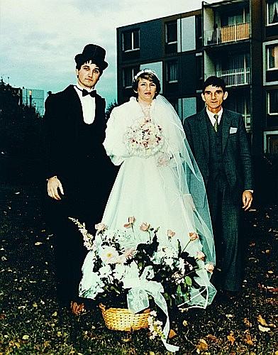 Jean-Christian BOURCART (né en 1960) Le plus beau jour de sa vie, n°14, Paris, 1988-1996 Tirage chromogénique de l'époque