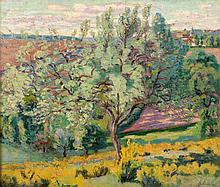 Armand GUILLAUMIN 1841 - 1927 Paysage - 1895 Huile sur toile