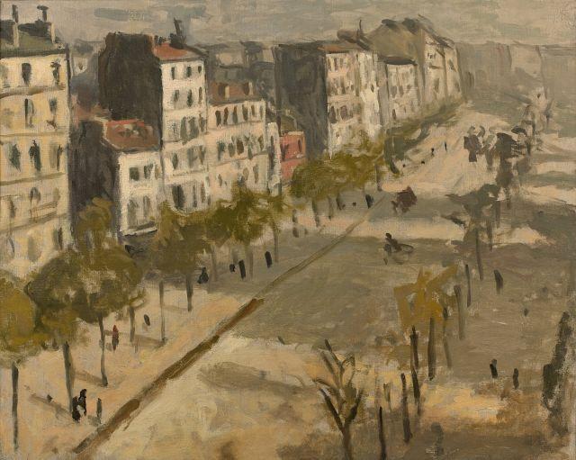¤ Albert MARQUET 1875 - 1947 Avenue de Versailles - 1904 Huile sur toile