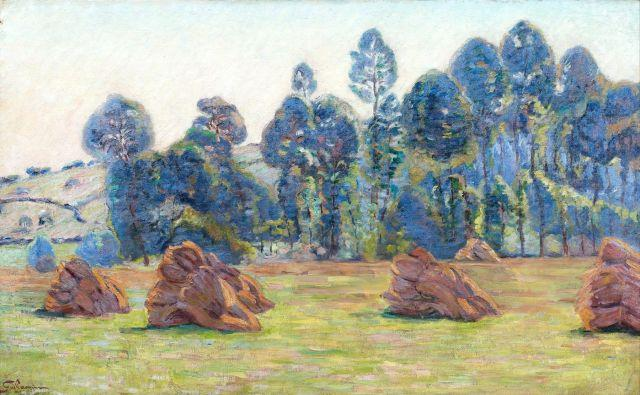 Armand GUILLAUMIN 1841 - 1927 Breuillet - 1890 Huile sur toile