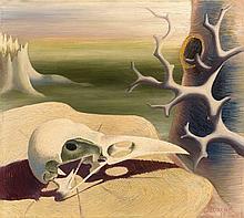 Waldemar LORENTZON 1899 - 1984 Sans titre - 1936 Huile sur toile