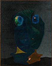 Georges PAPAZOFF 1894 - 1972 Tête - Circa 1928 Huile sur toile