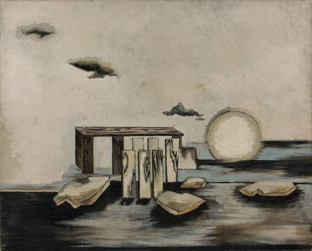 Jean LURCAT 1892 - 1966 L''eau - 1929 Huile sur toile