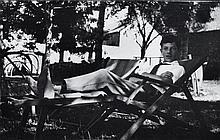 Willy RONIS (1910 - 2009) Mon premier autoportrait - Cornil (Corrèze), août 1926 Epreuve argentique (c. 1970)