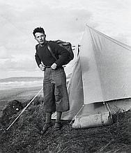 Willy RONIS (1910 - 2009) Autoportrait - Houlgate, 1937 Epreuve argentique (c. 1990)
