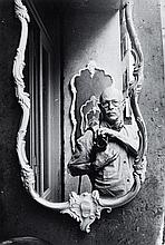 Willy RONIS (1910 - 2009) Autoportrait - Venise, 1981 Epreuve argentique (c. 1990)