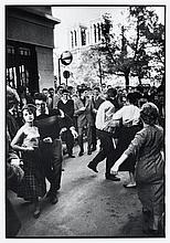 Willy RONIS (1910 - 2009) Quartier Saint Germain-des-Prés Quatre (4) épreuves argentiques (c. 1990)