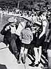 Willy RONIS (1910 - 2009) Jardin du Luxembourg Quatre (4) épreuves argentiques (c. 1990)