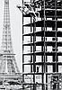 Willy RONIS (1910 - 2009) Tour Eiffel Quatre (4) épreuves argentiques (c. 1990)
