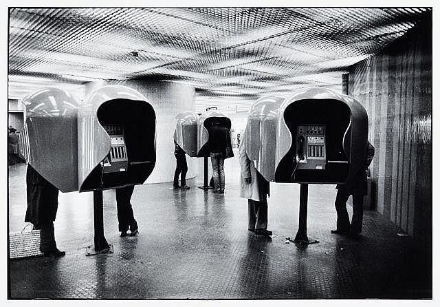 Willy RONIS (1910 - 2009) RER Châtelet-les-Halles - Paris, 1979 Epreuve argentique (c. 1990)