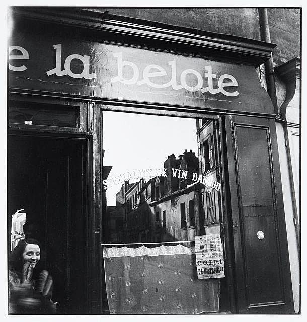 Willy RONIS (1910 - 2009) Rue saint Blaise - Paris, 1948 Epreuve argentique (c. 1990)