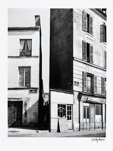 Willy RONIS (1910 - 2009) Passage de la Duée - Paris, c. 1948 Epreuve argentique (c. 1990)