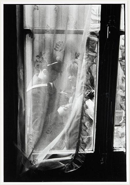 Willy RONIS (1910 - 2009) Les adieux - 1963 Epreuve argentique (c.1990)